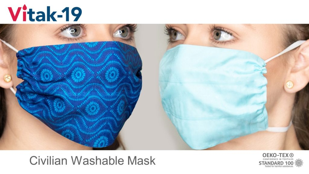 Vitak Washable Mask 1